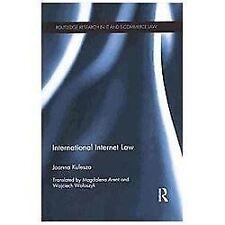 International Internet Law by Joanna Kulesza (2013, Paperback)