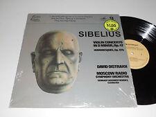SIBELIUS NM Oistrakh Rozhdestvensky Violin Concerto in D Minor Humoresques