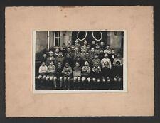 █ Neudorf ECOLE DE NEUFELD Photo Classe Strasbourg 1933 █