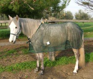 Coperta a rete ANTIMOSCHE per cavallo