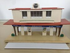 Hornby O gauge No 19 Marseille Railway station in box. Wooden self assembly type
