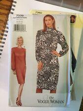 Vogue Sewing Pattern 7339 size 14 16 18 Raglan Dress