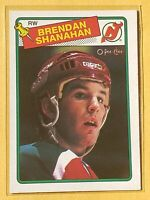 1988-89 O-Pee-Chee #122 - BRENDAN SHANAHAN  — New Jersey Devils RC!