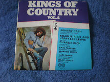 KINGS OF COUNTRY VOL.2 - NEAR MINT LP - JOHNNY CASH/CARL PERKINS/JERRY LEE LEWIS
