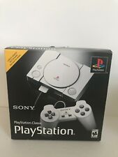 Sony PlayStation Classic Mini Pre-Loaded W/ 20 Classic Games AC Adapter included