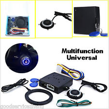 Engine Push Start Button RFID Lock Ignition Starter Keyless Entry Immobilizer