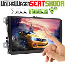 """9"""" GPS Autoradio Android 8.1 For VW Passat CC Golf 5 6 Touran Jetta DAB+ OBD2 hd"""