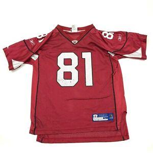 VINTAGE Reebok Anquan Boldin Arizona Cardinals Football Jersey Boys Size L 14-16