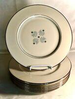 "8 Lenox Charmaine 10 5/8"" Dinner Plates"