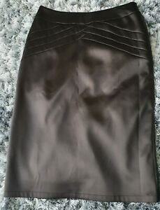 Lovely Black Silky Evening Skirt, Size 12