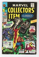MARVEL COLLECTORS ITEM CLASSICS 12  (VF/NM 9.0) DR. DOOM (SHIPS FREE)*