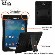 Heavy Duty Tough Shock Drop Proof Case Cover For Samsung Galaxy Tab A T350/P350