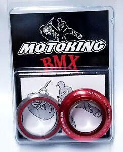 "MotoKing Bmx 1-1/8"" Integrated Headset Red  Fits GT, Redline, Haro, Supercross"