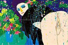 "Walasse Ting ""Love me' 1978-Fine Art Print, Picasso, Fantasía"