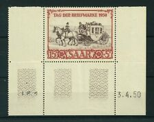 Germany Saar 1950 Stamp Day stamp. MNH. Sg 288.