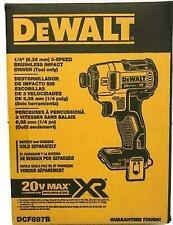 DeWalt DCF887B 20V Max Brushless Cordless Impact Driver - Bare Tool
