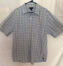 Transnine 100% Cotton Multi Color Plaid Shirt Men's XL 150904RGS/MHB