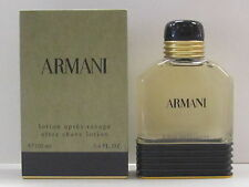 Armani Pour Homme by Giorgio Armani For Men 3.4 oz After Shave Lotion New In Box