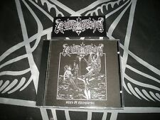 Goatthroat-i riti of Blasphemy (black/death metal, da, Beherit, Acheron) CD + STICKER