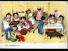 CHATS HUMAINS / CHAT PATISSIER ,,, illustré par FRITZ BAUMGARTEN en 1959