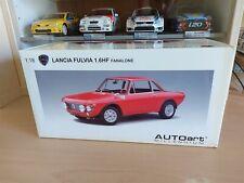 LANCIA FULVIA 1.6HF FANALONE (ROSSO CORSA/RED) - 1/18 AUTOART cod. 74701