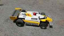 TYCO AFX #15 yellow/White Renault F1  HO Slot Car Nice (free Shipping)