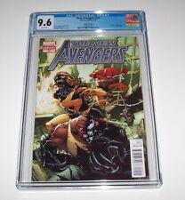 New Avengers #20 - CGC NM+ 9.6 - Marvel Modern Age 1:50 Venomized variant