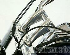 "Chrome 1"" Handlebar Risers Fit Honda Shadow ACE Aero Spirit 750 1100 VLX 600"