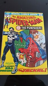 Amazing Spider-man #129. First Punisher - Frank Castle - very nice copy !