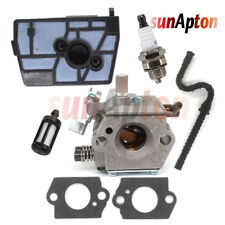 Carburetor for Stihl 028 028AV Tillotson HU-40D 11181200600 Chainsaw Tune Up Kit