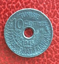 Tunisie - Protectorat Français - France - Superbe Essai du 10 Centimes 1945