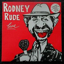 Rodney Rude - Live - LP Vinyl AUS 1984