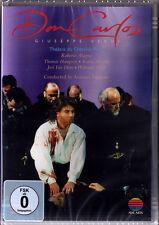DVD VERDI DON CARLOS Alagna Mattila Hampson PAPPANO Waltraud Meier Van Dam CARLO