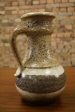 60s GERMAN CERAMIC VASE ART POTTERY Fat Lava Mid Century Vintage 70s