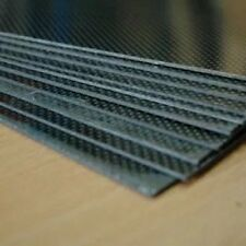 CARBON FIBRE EPOXY Plate 0.5mm x 200mm x 140mm  shiny both sides  sheet
