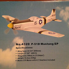 Thunder Tiger P-51 EP Foam Plane RC Airplanes ARF