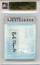 2005/06 ITG ULTIMATE MEMORABILIA 6TH EDITION BOBBY CLARKE AUTOGRAPH 31/50