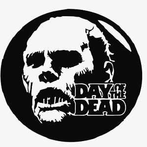 Day of the Dead vinyl decal sticker George A Romero Horror Zombie DVD VHS