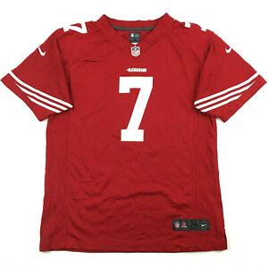 Nike San Francisco 49ers Youth Jersey Colin Kaepernick #7 NFL Football Kids XL