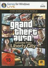 Grand Theft Auto: Episodes From Liberty City (PC, 2013, DVD-Box) mit Steam Key