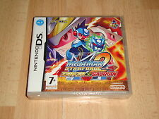 MEGAMAN STARFORCE 2 ZERKER X SAURIAN CAPCOM FOR NINTENDO DS NEW FACTORY SEALED