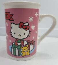 Hello Kitty Mug Coffee Tea Cup 2013 Sanrio Co., LTD EUC Excellent Used Condition