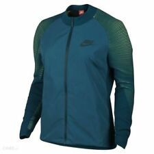 WOMENS NIKE Dynamic Reveal JACKET.  Size Small Teal 828292-351