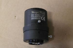 C-mount lens 3.0-8mm 3-8mm industrial aspherical TAMRON 1/3 CCTV CS Mega Pixel