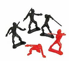 Pack of 18 - Ninja Action Figures - Martial Arts Party Bag Fillers