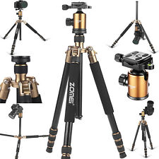 Heavy-duty Aluminium Camera Tripod Travel Monopod Ball Head for Digital Camera