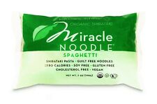 1 Package Miracle Noodle Organic Spaghetti Shirataki Pasta for Low Carb Diet