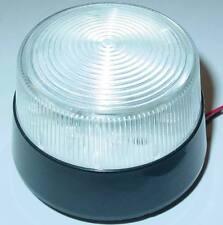 Stroboskop Blitzer Weiß, 12VDC LED Blitzer, Flash, 80-100 Blitze, BW