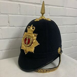 REME HOME SERVICE CEREMONIAL HELMET With furniture , Badge & strap -  Size:61cm