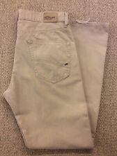 Men's Tommy Hilfiger W34 L30-31 Beige Bootcut Jeans Great Condition